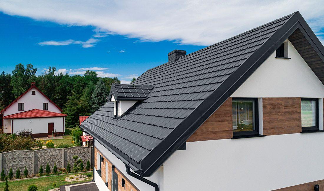 jak dobrać kolor dachu do elewacji