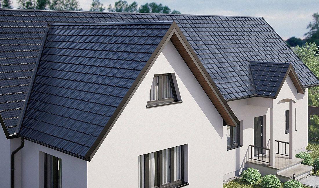 jak dopasować kolor dachu do elewacji